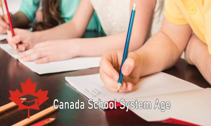 Canada School System Age: Canadian Schooling Child's Age and Grades in Elementary and Junior High School