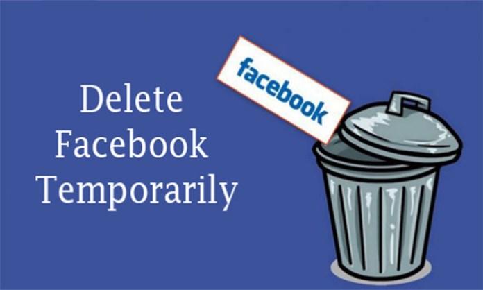 Delete Facebook Temporarily - Facebook Account Delete | How to Delete Facebook Account
