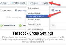 Facebook Group Settings - Groups on Facebook | How to Create Facebook Group
