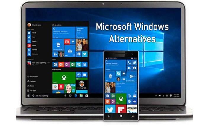 Microsoft Windows Alternatives - Five Free Alternatives to Microsoft Windows