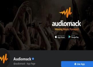 Audiomack Login With Facebook