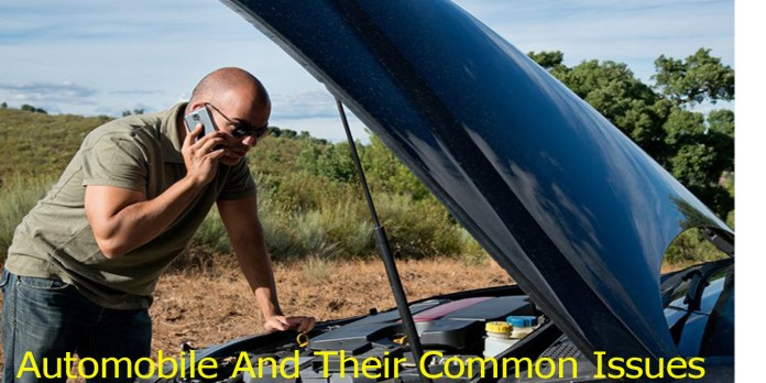 Automobile And Their Common Issues