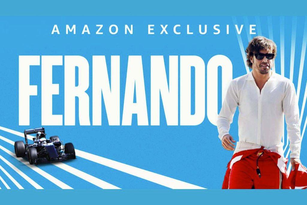 fernando Alonso Amazon exclusive