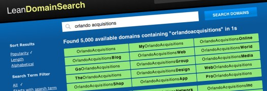 Lean Domain Search Helps Travel Agents and Agencies Find Website Names for their Business