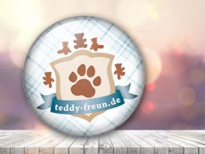 Teddy-Freunde-Button