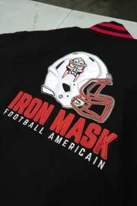 Teddy Original Iron Mask Cannes Football Américain