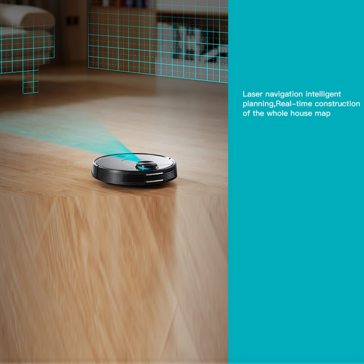 laser navigation vacuum cleaner robot