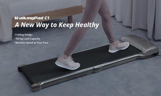 WalkingPad C1 Treadmill workout at home