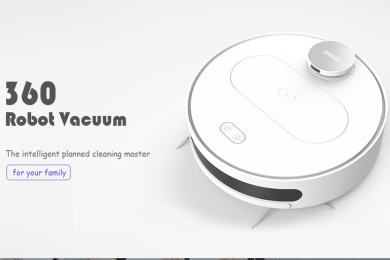 360 S6 Robot Vacuum Cleaner 1800Pa Suction Mopping