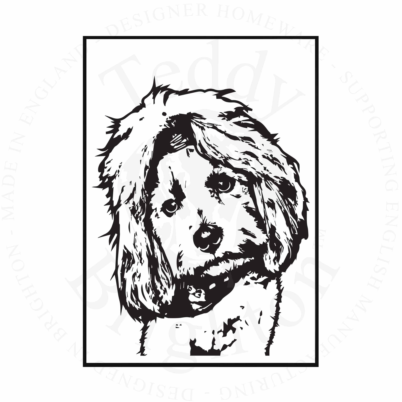 Shih Tzu Illustration Dog022