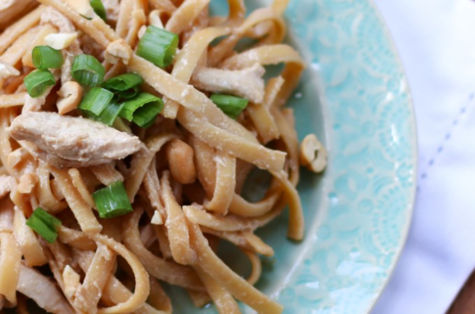 Chrissy Teigen Sesame Chicken Noodles