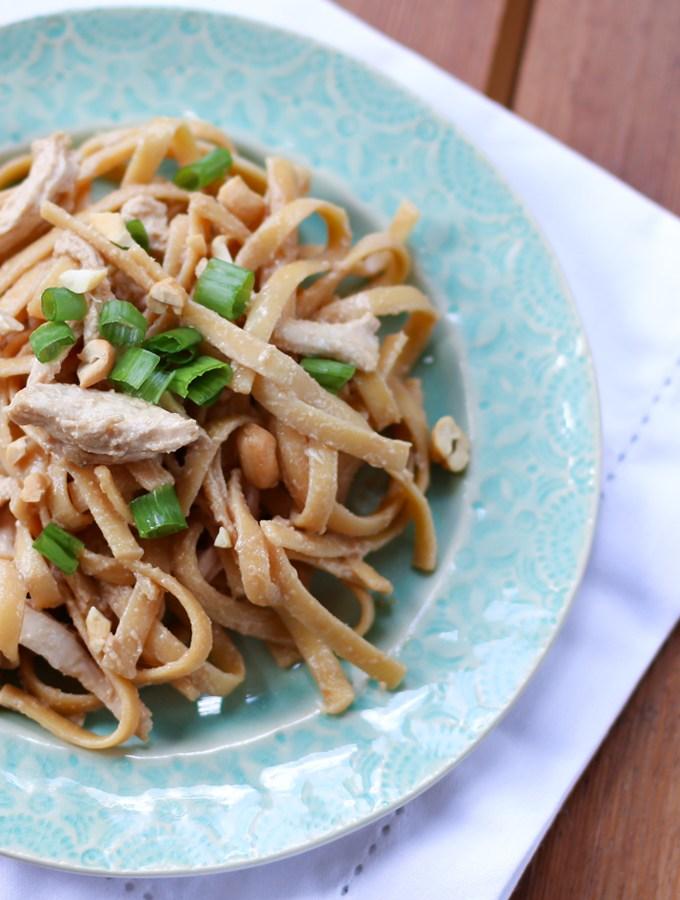 Chrissy Teigen Sesame Chicken Noodles