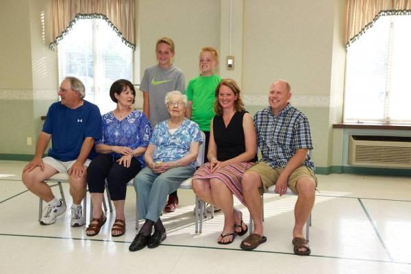 Irene's 95th Birthday