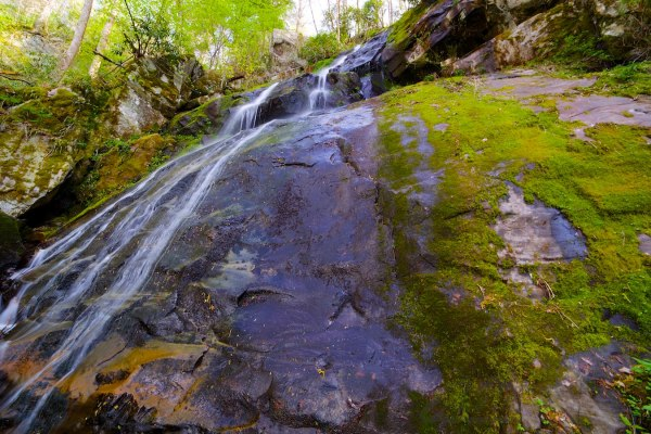 Hen Wallow Falls on Gabes Mountain Trail