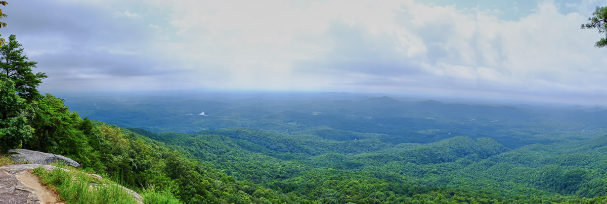 Bald Knob Overlook Panorama