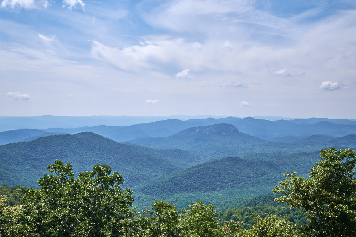 Pounding Mill Overlook, Blue Ridge Parkway