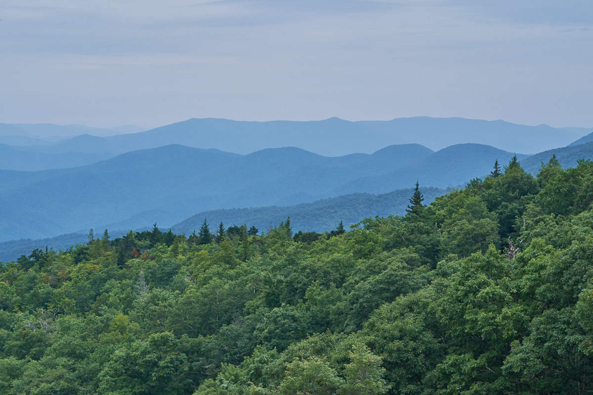 Green Knob Overlook, Blue Ridge Parkway