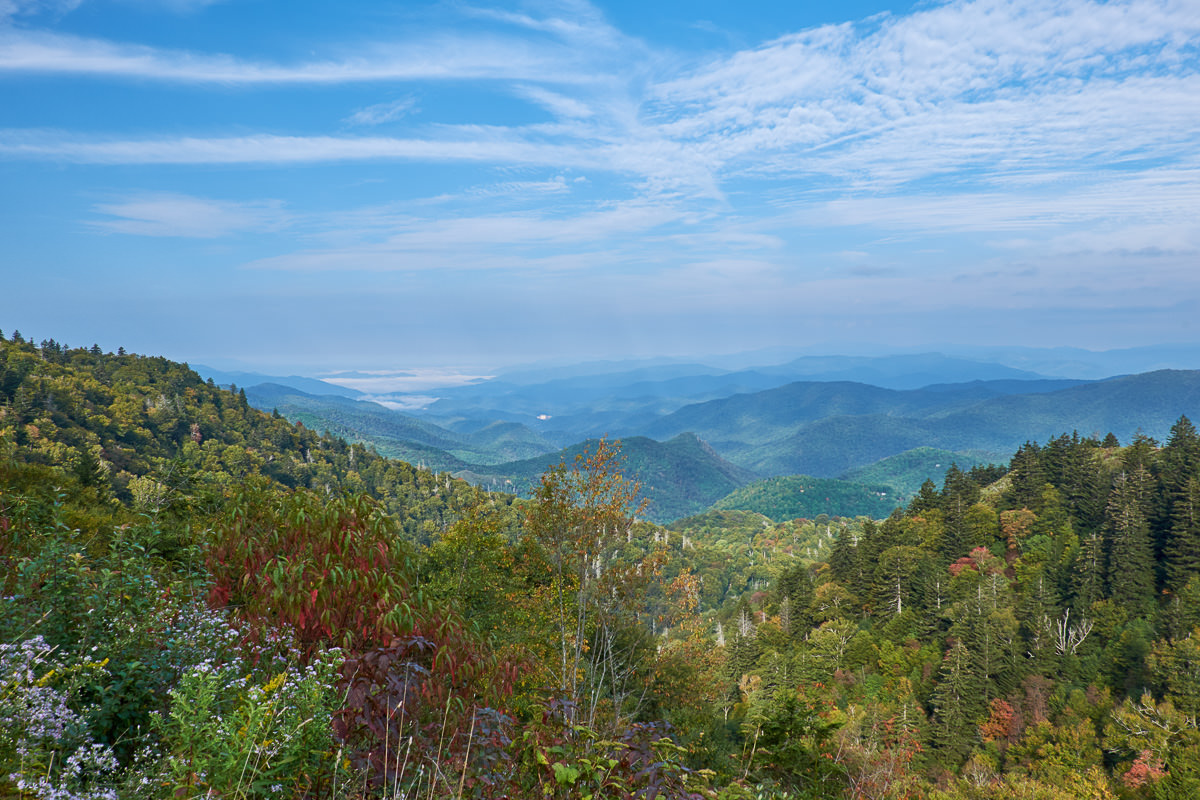 Woolyback Overlook, Blue Ridge Parkway