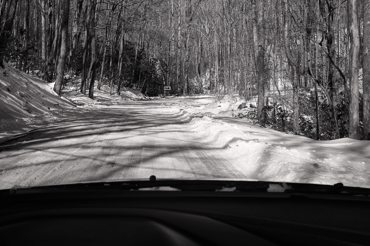 Kind of like your typical Michigan road in Winter, right? Michigan roads generally aren't this steep