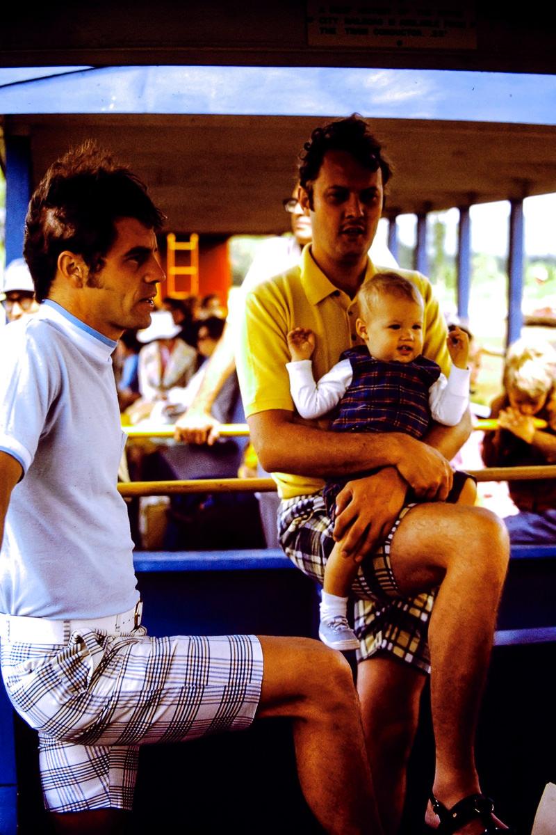 Milwaukee 1973: Dick, Jim Dunn, Greg Dunn