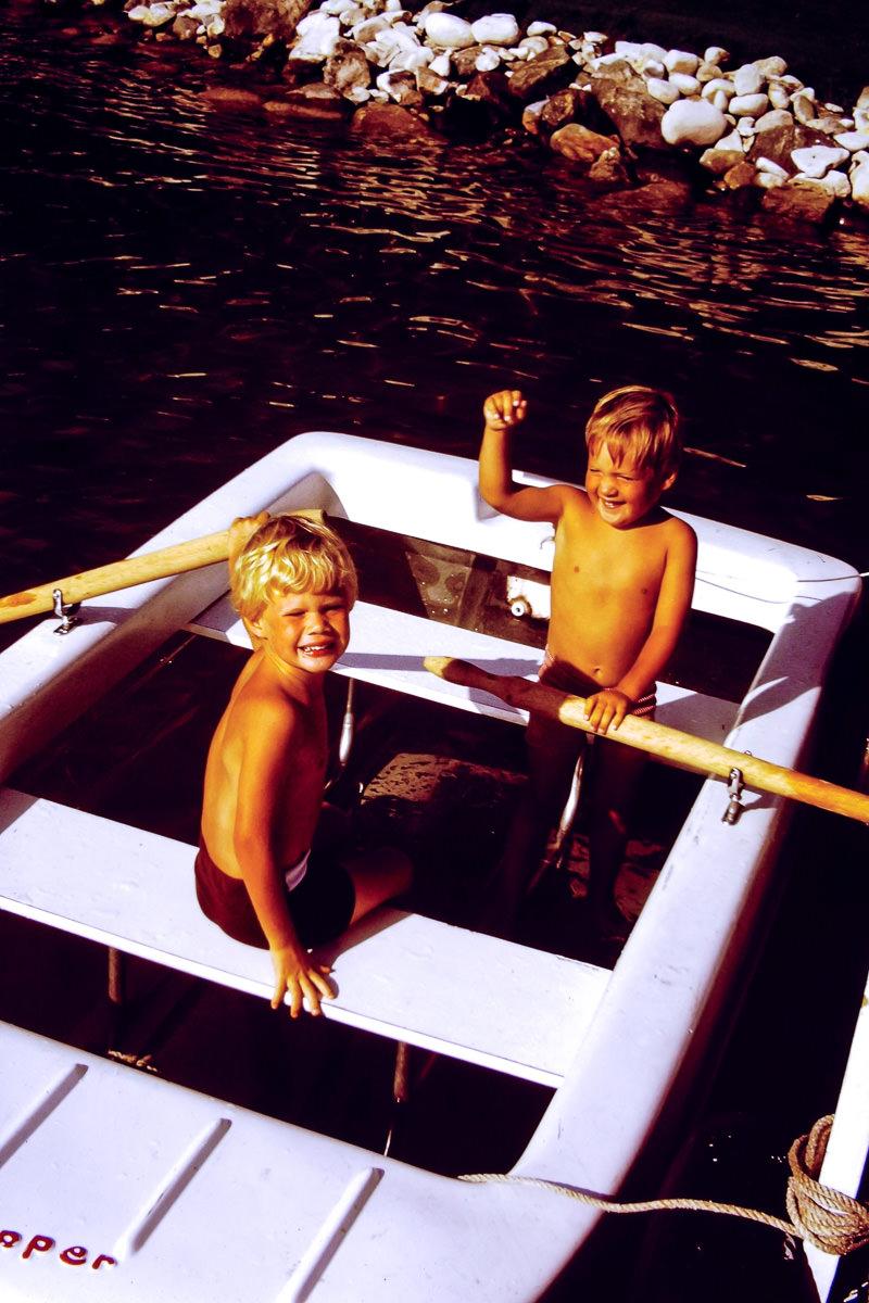 Walloon Lake 1973: Rob, Doug