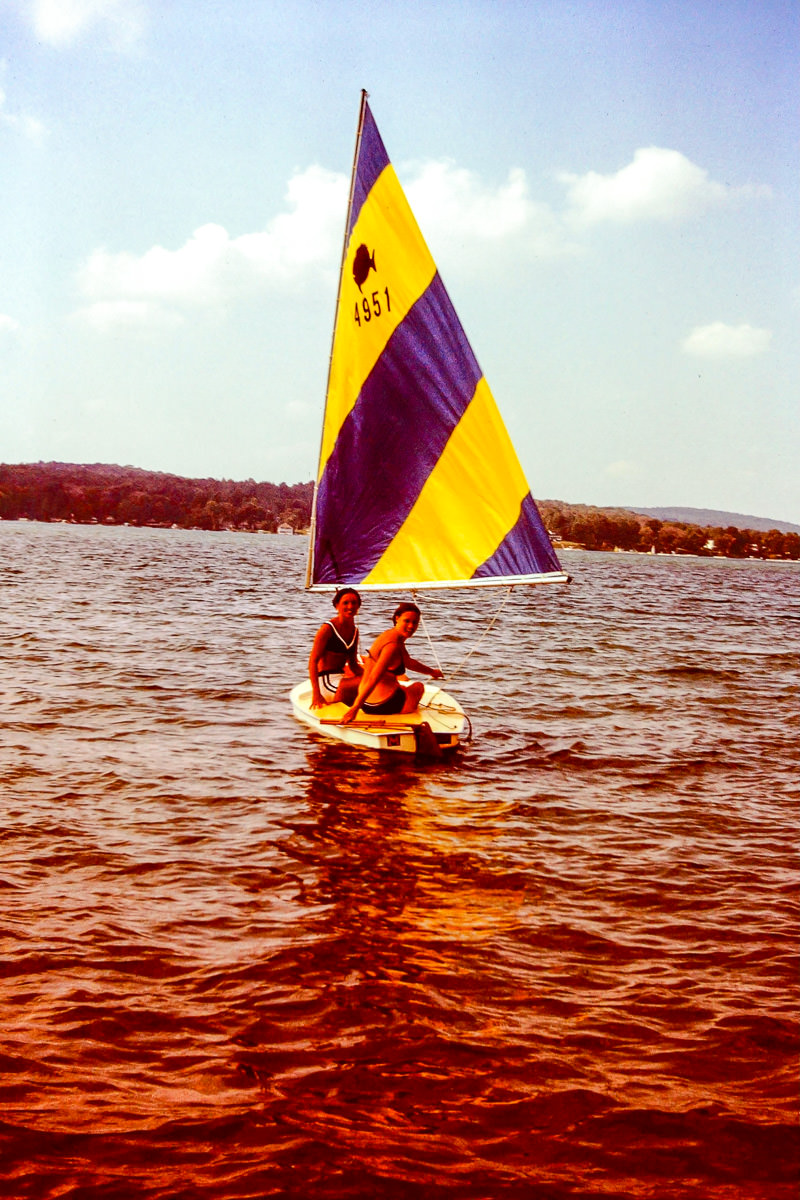 Walloon Lake 1973: Jan, Sandy