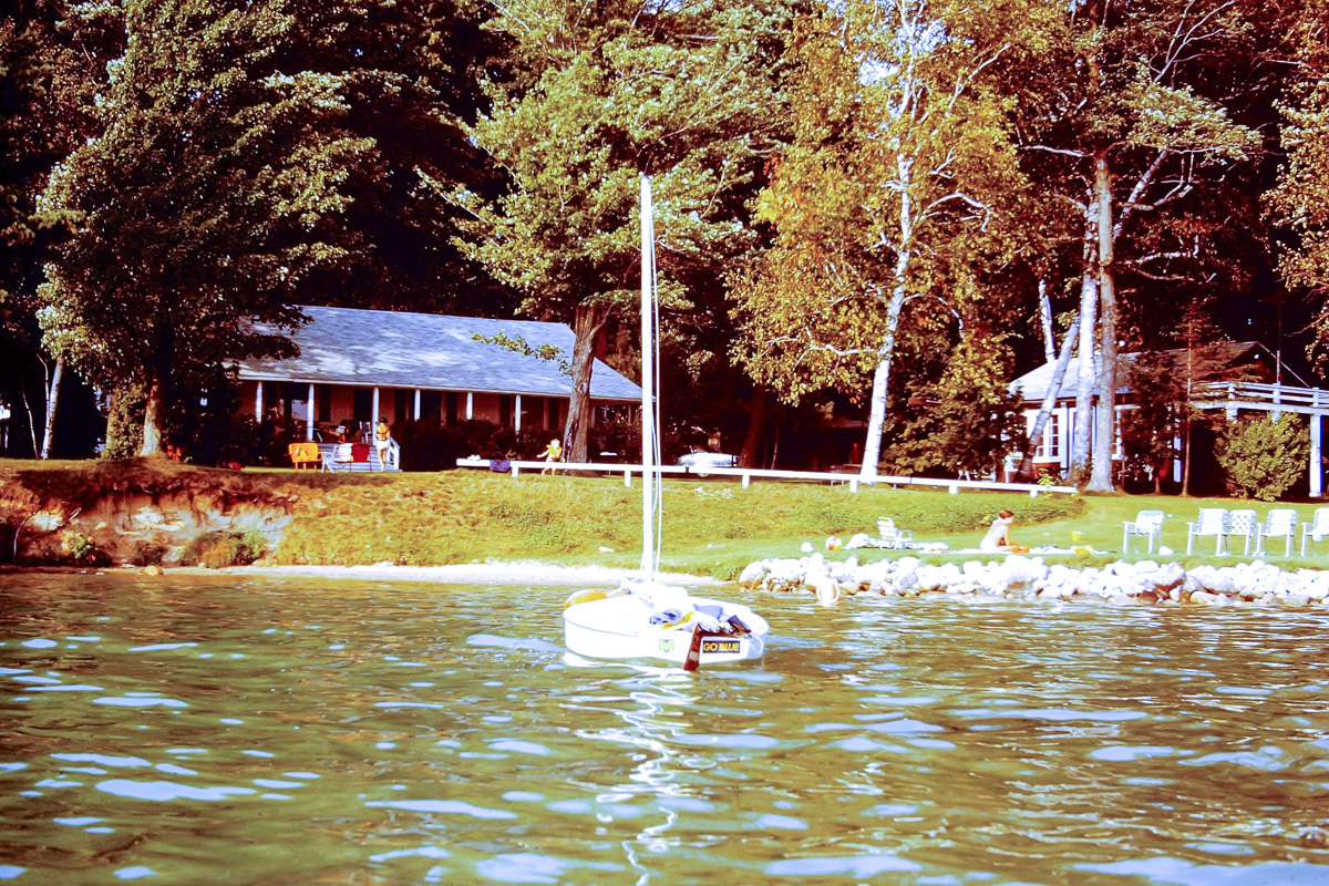 Walloon Lake 1973: This is the cottage that our three families shared each summer for a decade