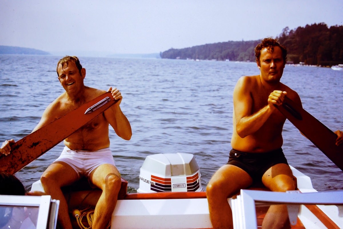 Walloon Lake 1973: Bill, Jim