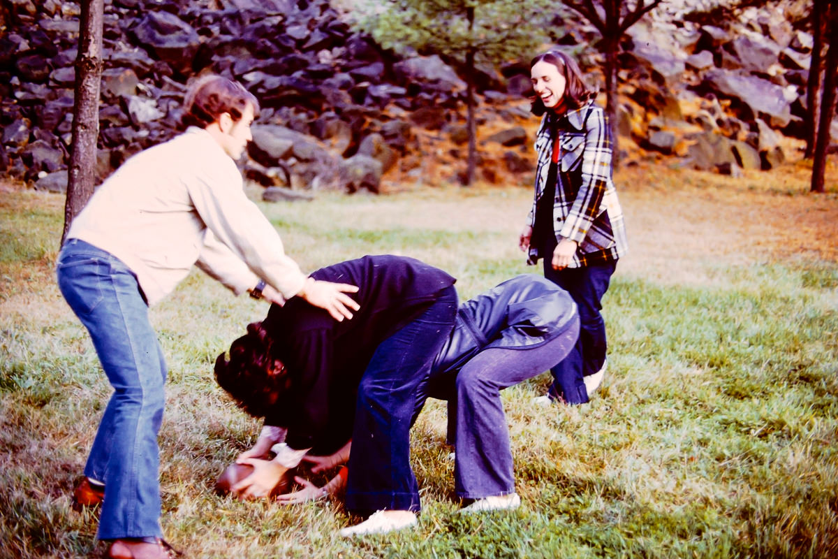 1973: Dick, Mary Lou, Sandy, Jan
