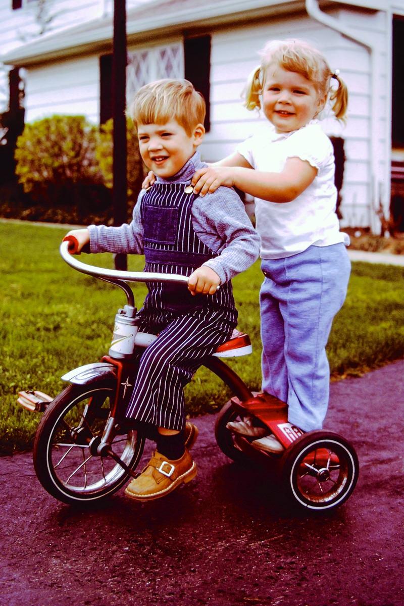 Family 1973: Doug, Jenny