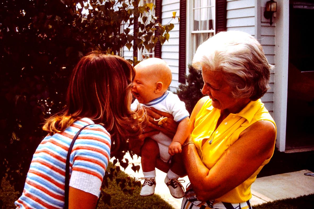 1974: Susie, me, Joan