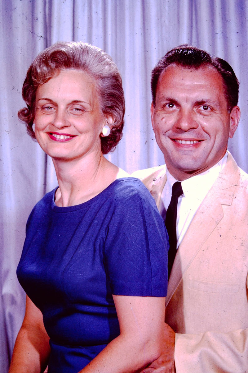 July 1964: Joan, George