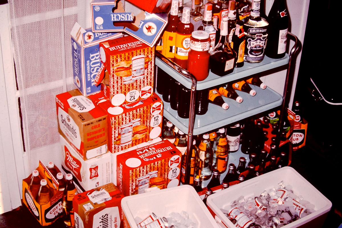 Walloon Lake 1974: A selection of energy drinks, circa 1974