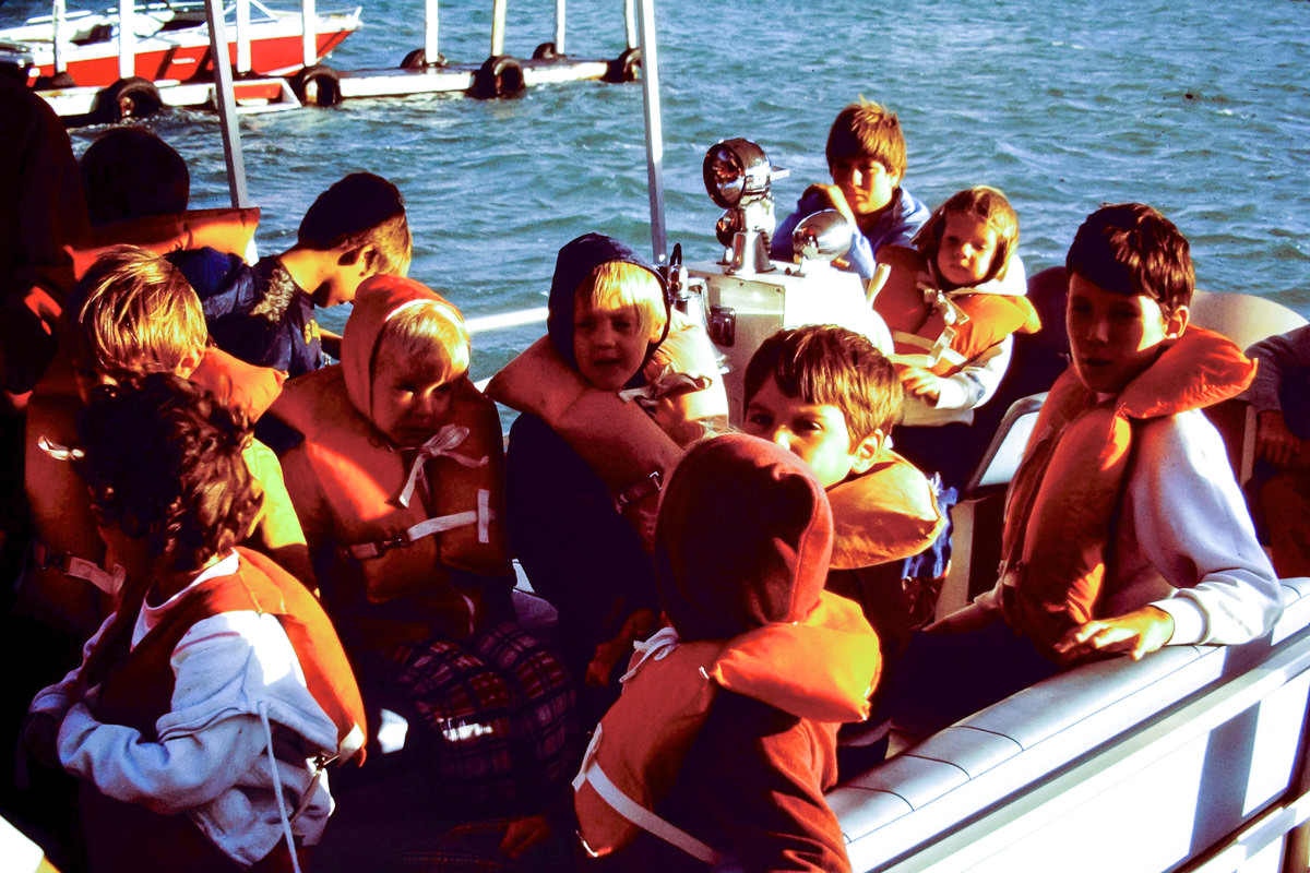 Walloon Lake 1974: Obligatory boating safety reference here