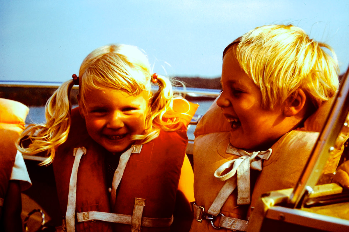 Walloon Lake 1974: Jenny, Doug