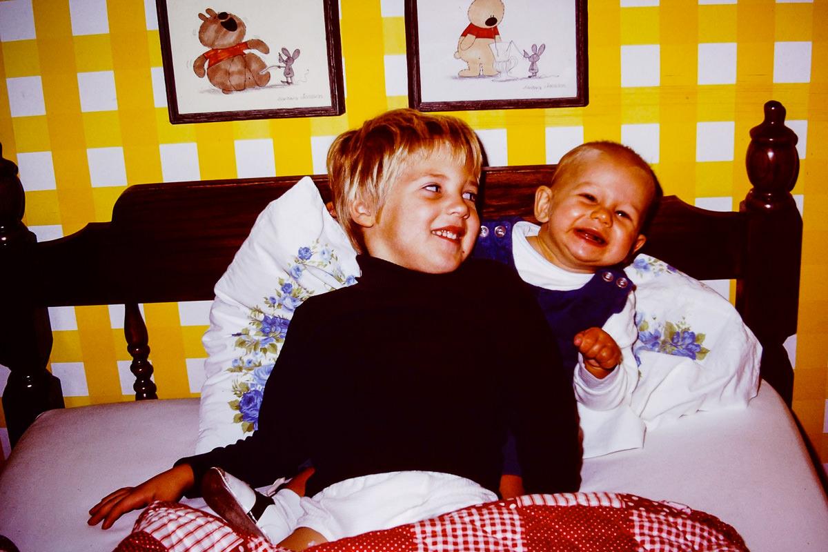 Fall 1974: Doug, me