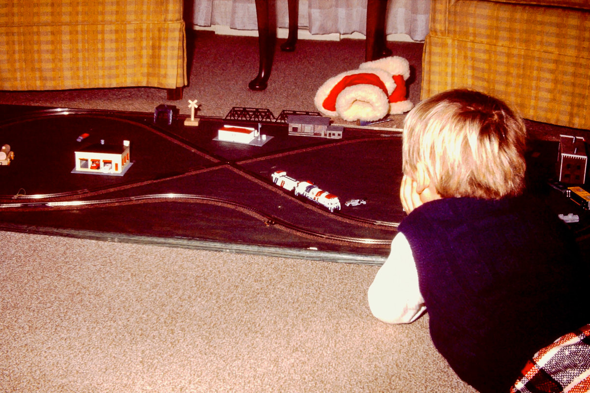 Christmas 1974: Trains would come to play a big role in our growing-up lives