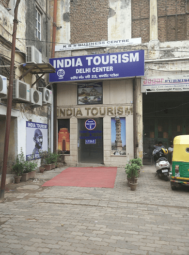 scam tourism office Connaught place
