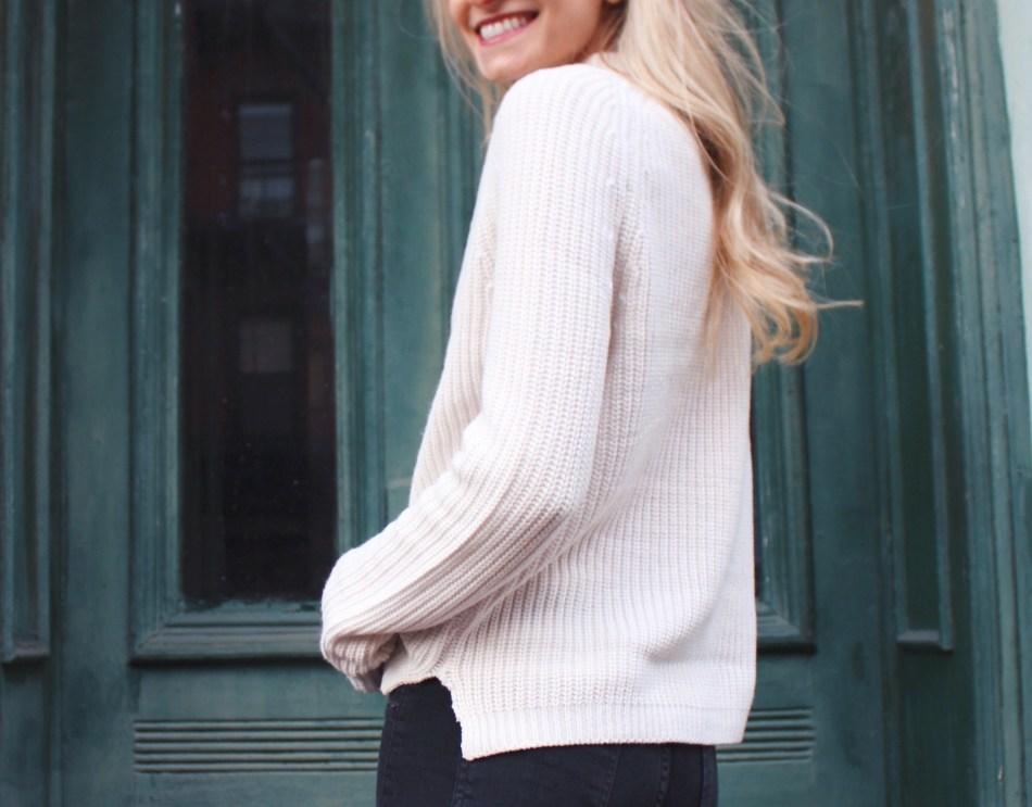 wool-free sweater