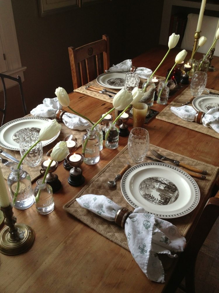 no rules table setting entertaining ted kennedy watson. Black Bedroom Furniture Sets. Home Design Ideas