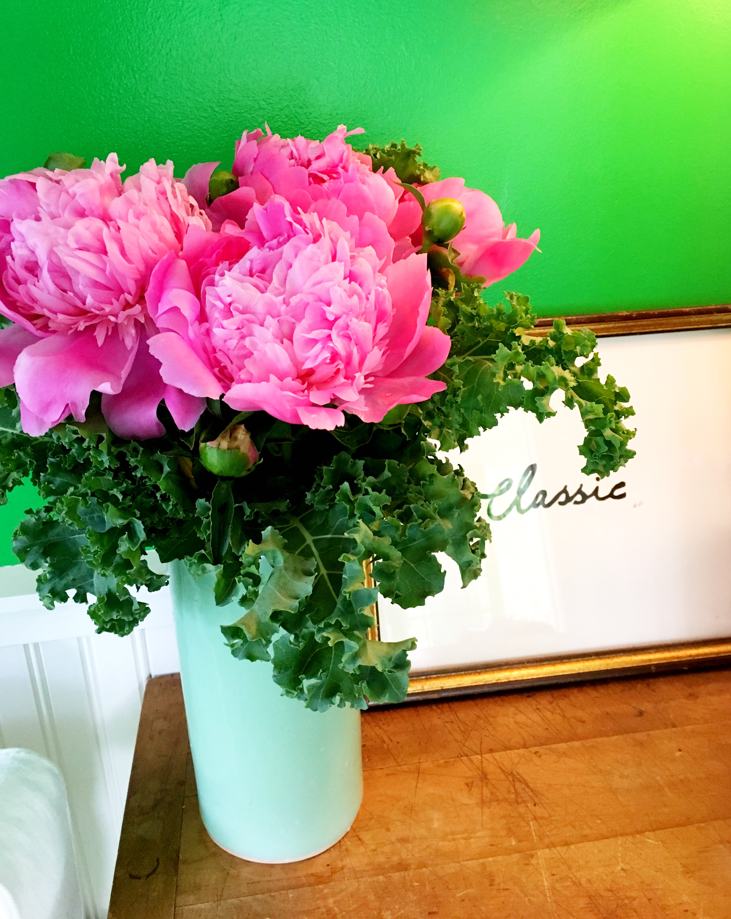 Pink Green Flower Friday Ted Kennedy Watson