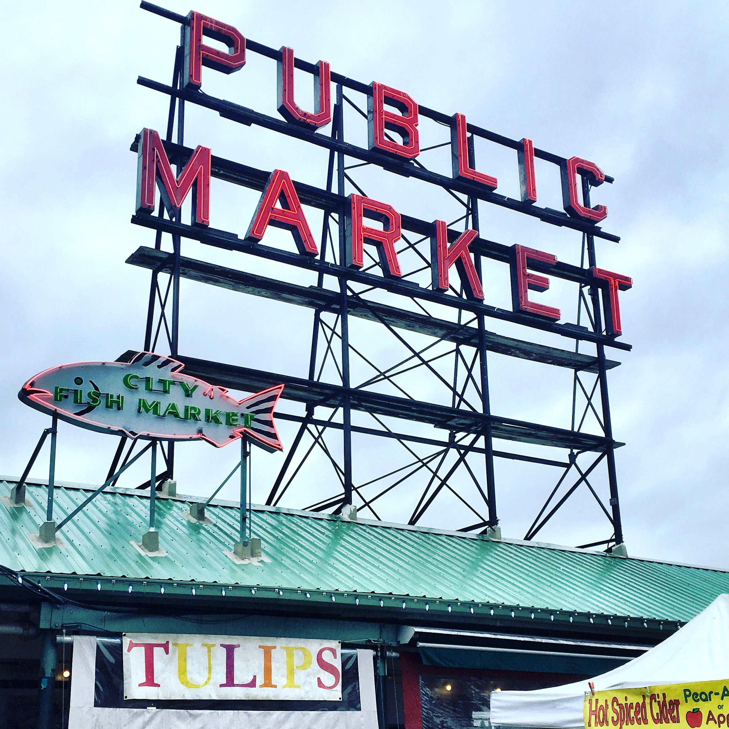 Pike Place Market » Ted Kennedy Watson