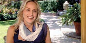 """Sharon Stone and leading experts in religion, science, history, politics and entertainment discuss women healing the world in """"Femme.""""Wonderland Entertainment Group photo"""