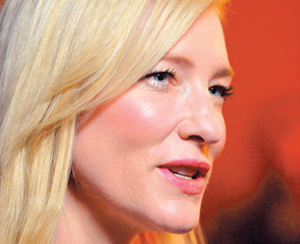 """Cate Blanchett is nominated for a Best Actress Oscar for her performance in Woody Allen's """"Blue Jasmine."""""""