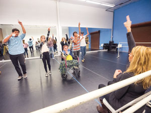 SB Dance Arts owner, AlanaTillim, choreographs the Teen Stars