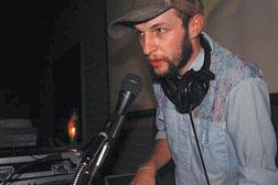 KCRW DJ Jeremy Sole, image courtesy of KCRW