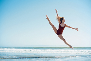 Alannah Pique, a UCSB alumni, is one of the founders of the SELAH Contemporary Dance Collective.