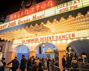 """Desert Dancer"" opened the 30th annual Santa Barbara International Film Festival on Tuesday at the Arlington Theatre NIK BLASKOVICH/ NEWS-PRESS"