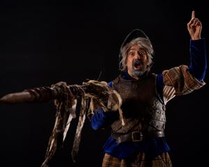 David Studwell as Don Quixote