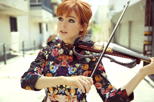 Violinist and dancer Lindsey Stirling quickly rose to fame after starting her own YouTube channel in 2007. She brings her Music Box Tour to the Santa Barbara Bowl on Saturday. Kate sZatmari photo